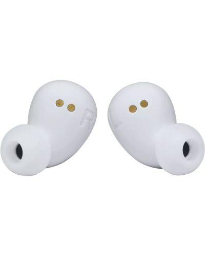 Casti wireless cu microfon JBL - FREE II, TWS, albe - 3