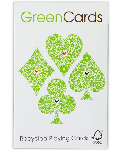 Carti de joc GreenCards - Recycled Playing Cards - 1