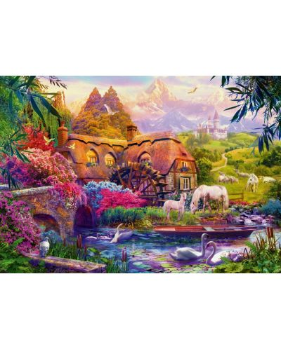 Puzzle Bluebird de 1000 piese - Old Mill, Jan Patrik Krasny - 1