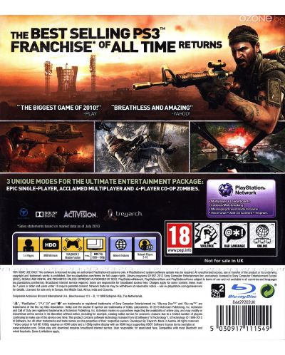 Call of Duty: Black Ops - Platinum (PS3) - 3