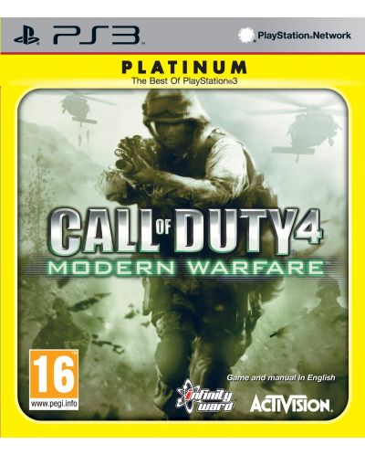 Call of Duty 4 Modern Warfare - Platinum (PS3) - 1