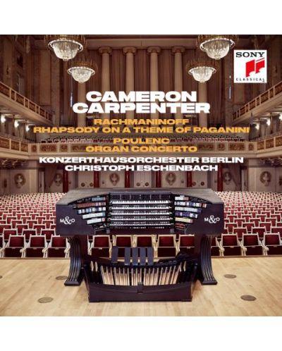 Cameron Carpenter - Rachmaninoff: Rhapsody on A Theme of Paganini & Poulenc: Organ Concerto (CD) - 1
