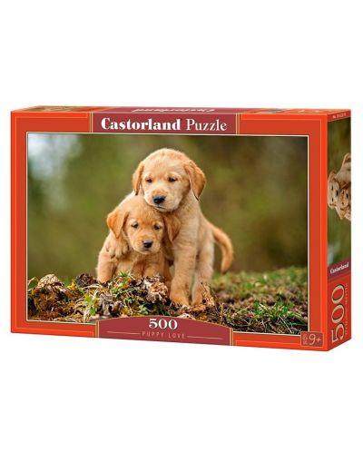 Puzzle Castorland de 500 piese - Labute ibitoare - 1