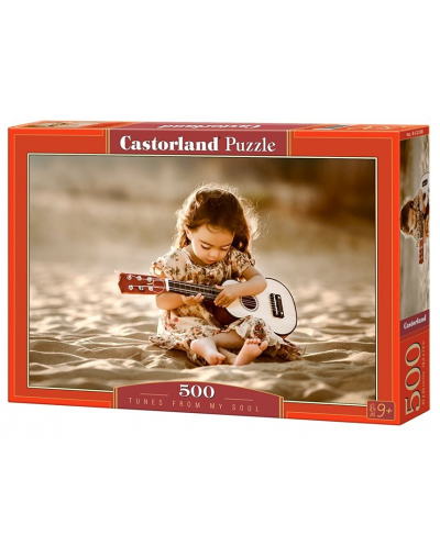 Puzzle Castorland de 500 piese - Melodie delicata - 1