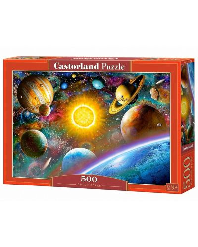 Puzzle Castorland de 500 piese - Spatiul cosmic - 1
