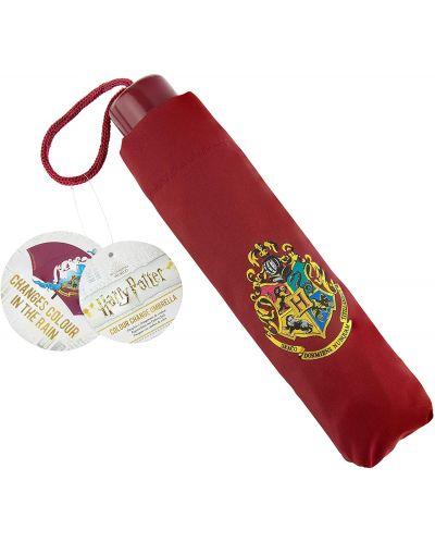 Umbrela Paladone Movies: Harry Potter - Hogwarts, culoare schimbatoare - 1
