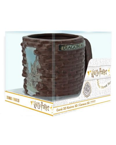 Cana 3D ABYstyle Movies: Harry Potter - Diagon Alley, 500 ml - 4