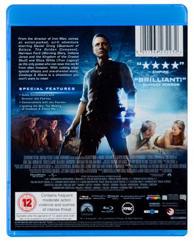 Cowboys & Aliens, Extended Director's Cut (Blu-Ray) - 2