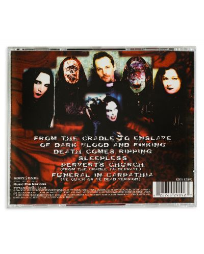 Cradle Of Filth - From the Cradle to Enslave (CD) - 2
