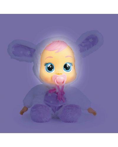 Papusa bebe plangacios IMC Toys Cry Babies, cu lacrimi stralucitoare  - Noapte buna, Coney - 3