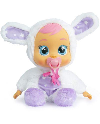 Papusa bebe plangacios IMC Toys Cry Babies, cu lacrimi stralucitoare  - Noapte buna, Coney - 1