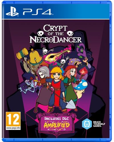 Crypt Of The Necrodancer (PS4) - 1