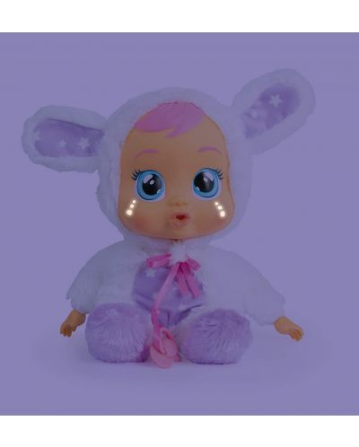 Papusa bebe plangacios IMC Toys Cry Babies, cu lacrimi stralucitoare  - Noapte buna, Coney - 2