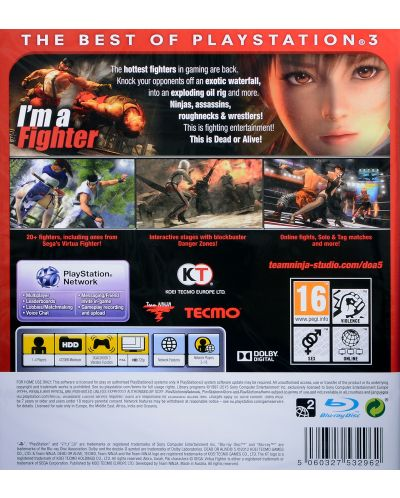 Dead Or Alive 5 - Essentials (PS3) - 3