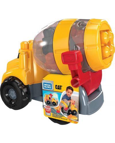 Set de construit pentru copii Mega Bloks - Cat Cement Mixer - 2