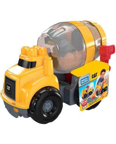 Set de construit pentru copii Mega Bloks - Cat Cement Mixer - 1