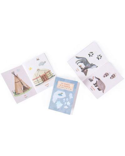 Jucarie pentru copii Moulin Roty - Lanterna de poveste cu carti - 3