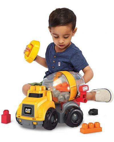 Set de construit pentru copii Mega Bloks - Cat Cement Mixer - 3