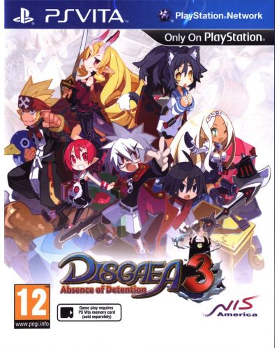 Disgaea 3 Absence of Detention (PS Vita) - 1