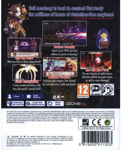Disgaea 3 Absence of Detention (PS Vita) - 3