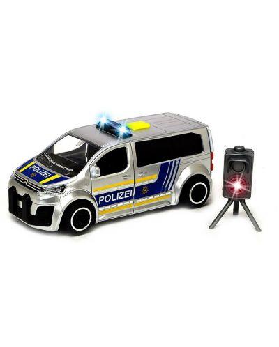 Jucarie pentru copii Dickie Toys  SOS Series - Van de politie cu radar, 1:32 - 1