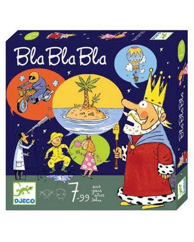 Joc cu carti pentru copii Djeco - Bla Bla Bla - 1