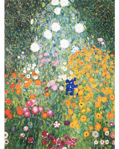 Puzzle D-Toys de 1000 piese - Gustav Klimt, Flower Garden - 2