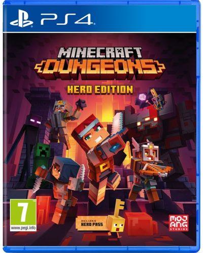 Minecraft Dungeons Hero Edition (PS4) - 1