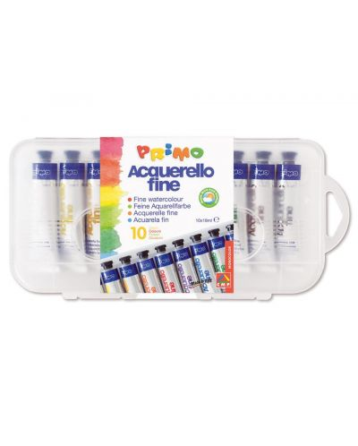 Acuarele in tub Fine - 10 culori х 18 ml - 1