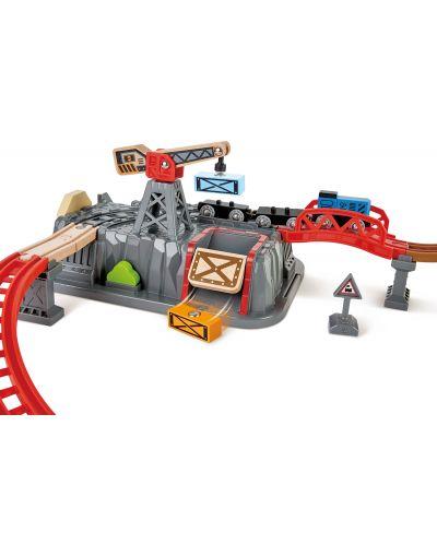 Set de joaca Hape - Compozitie feroviara din lemn, 50 de piese - 3