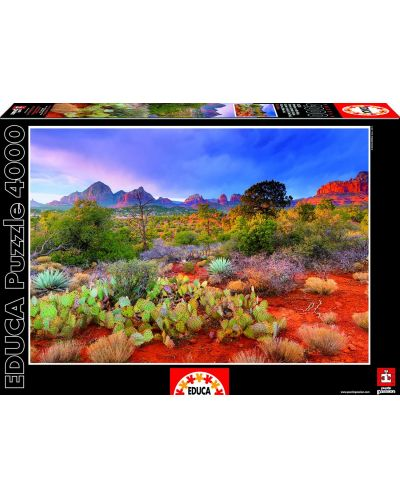 Puzzle Educa de 4000 piese - Parcul national Rand Rock, Arizona - 1