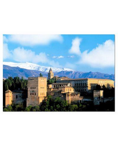 Puzzle Educa de 1000 piese - Castelul Alhambra, Granada - 1