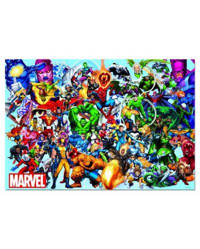 Puzzle Educa de 1000 piese - Eroii Marvel - 2