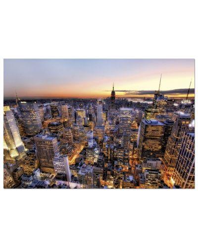 Puzzle Educa de 3000 piese - Rasarit in Manhattan, New York - 2
