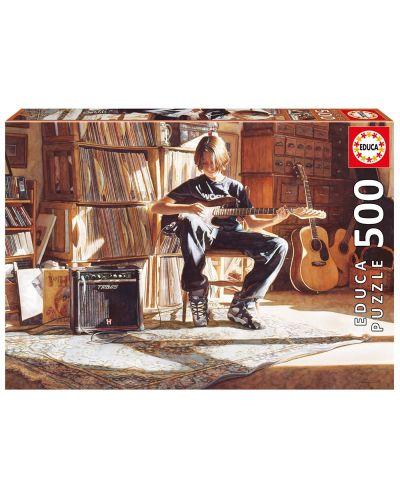 Puzzle Educa de 500 piese - Timpul pentru muzica - 1