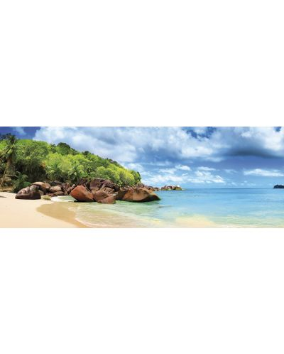 Puzzle panoramic Educa de 1000 piese - Insula Mahe, insulele Seychelles - Panorama - 2