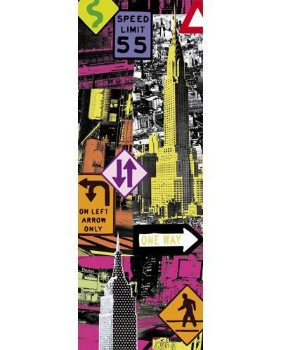 Puzzle panoramic Educa de 2000 piese - New York, Pop art - 2
