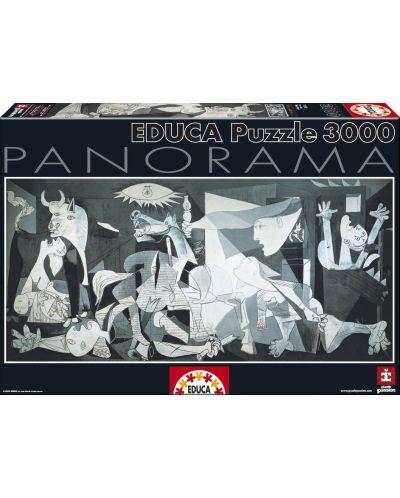 Puzzle panoramic Educa de 3000 piese - Guernica, Pablo Picasso - 1