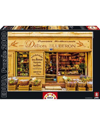 Puzzle Educa de 2000 piese - Ispite din Luberon - 1