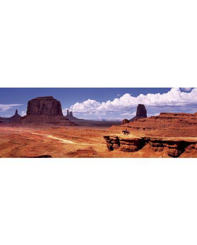 Puzzle panoramic Educa de 1000 piese - Valea monumentelor, SUA - 2