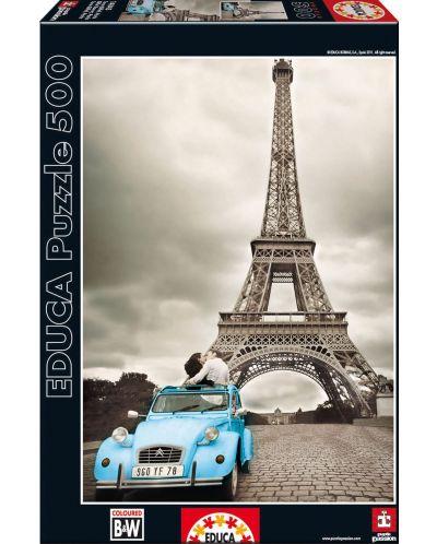 Puzzle Educa de 500 piese - Turnul Eiffel, Paris - 1