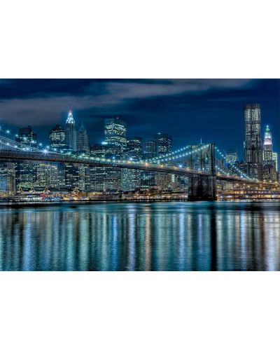 Puzzle Educa de 1000 piese - Manhattan noaptea - 2