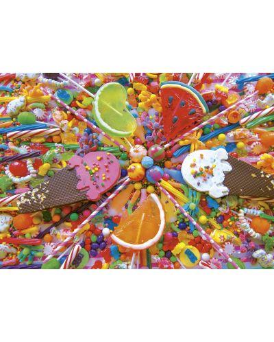 Puzzle Educa de 500 piese - Dulciuri - 2