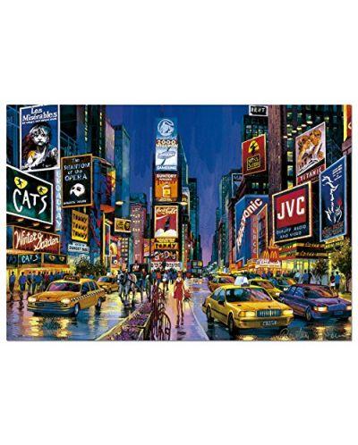 Puzzle neon Educa de 1000 piese - Times Square, New York - 2