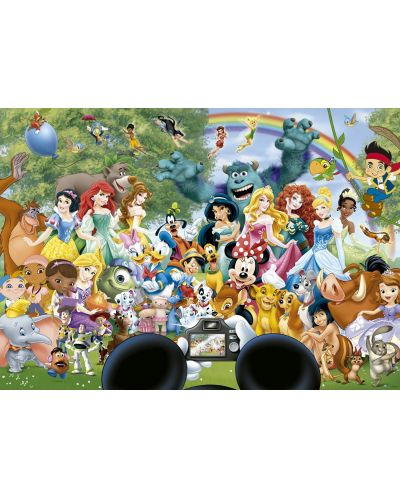 Puzzle Educa de 1000 piese - Lumea minunata Disney - 2