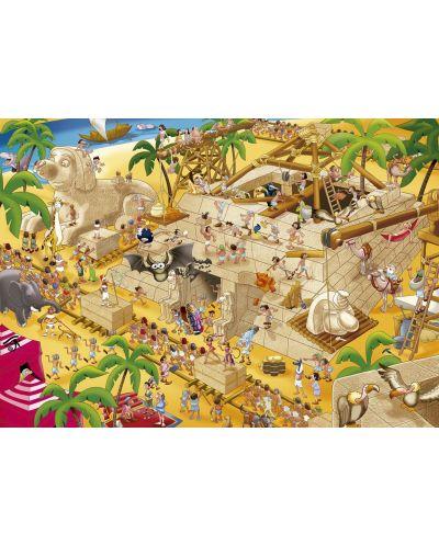 Puzzle Educa de 1000 piese - Egiptul antic - 2