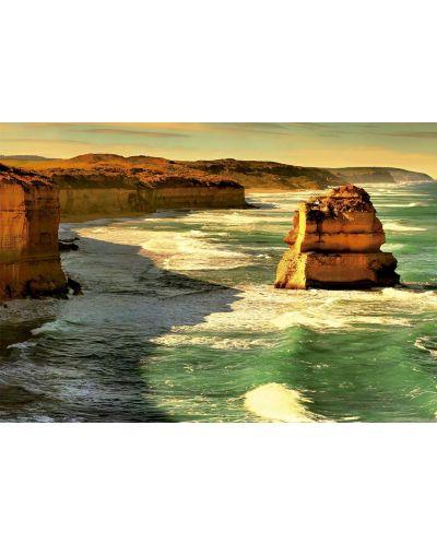 Puzzle Educa de 1000 piese - Drumul oceanului mare, Australia - 2
