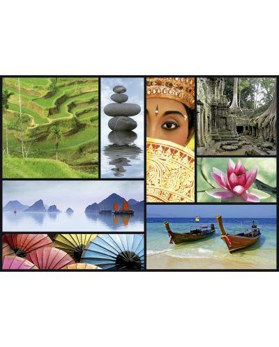 Puzzle Educa de 1000 piese - Culorile Asiei - 2
