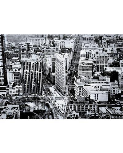 Puzzle Educa de 1500 piese - Rascruce la cladirea Flatiron Building, Manhattan - 2
