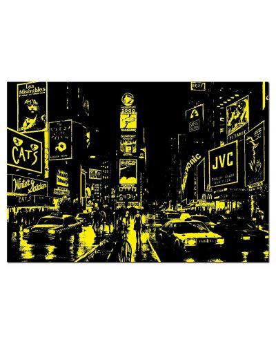 Puzzle neon Educa de 1000 piese - Times Square, New York - 3